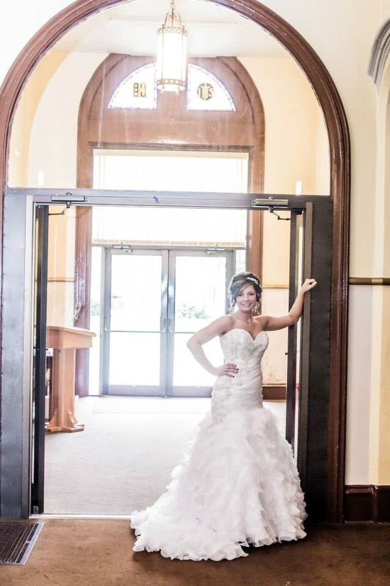 Bride wedding photo