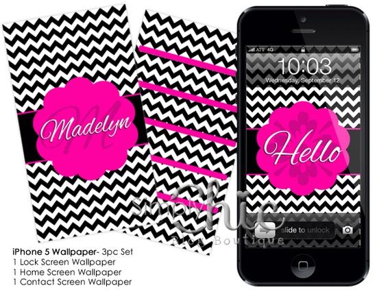 Chevron iPhone Wallpaper Pack (iPhone 5)