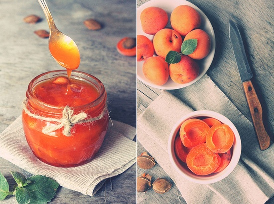 Warm, classic, very yummy Apricot Jam. #food #cooking #foodphotography #jam #apricots #fruit #summer