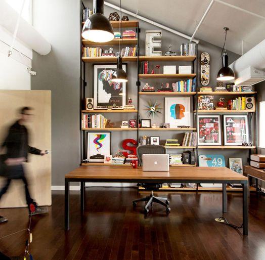 Blokey design office inspirational clutter