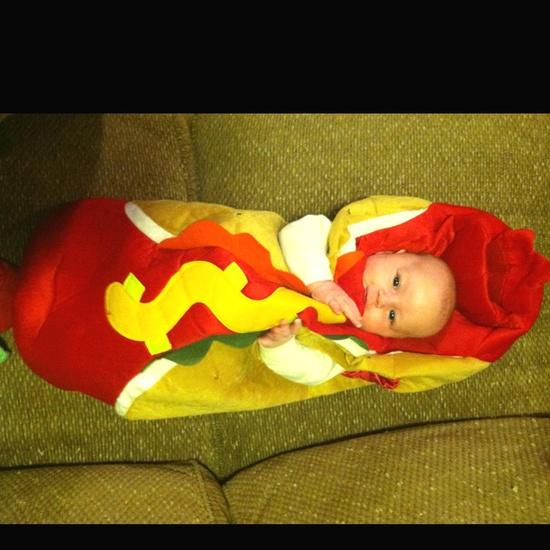 Baby Halloween costumes!