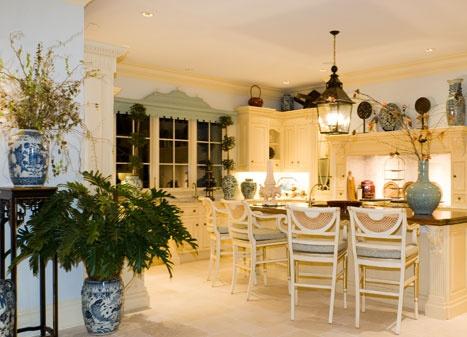 Chinoiserie Kitchen Interior Design