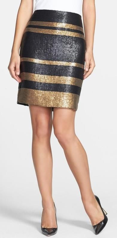 Classic cut, pencil skirt.