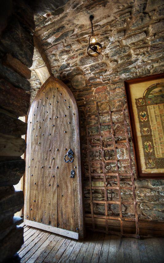 Castle side door - Eilean Donan Castle