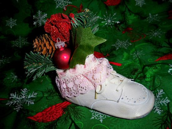 Vintage 1940's Leather Baby Girl's Shoe by dawneedooville on Etsy, $20.99