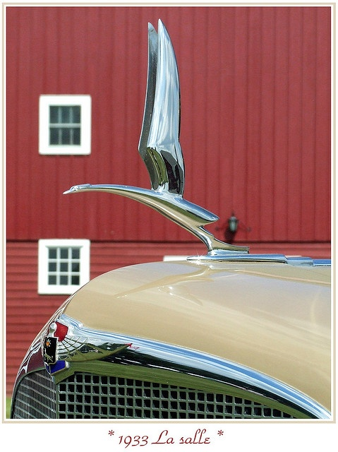 1933 LaSalle Hood Ornament - Steve Brown