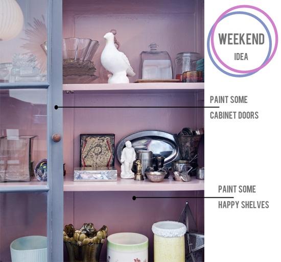 DIY idea: Paint a cabinet