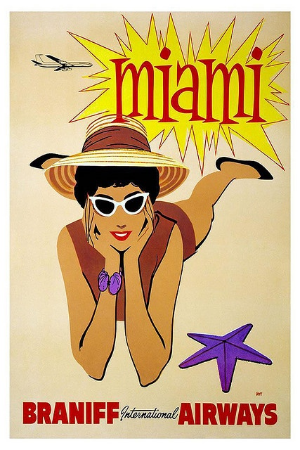 Braniff Airways - Miami