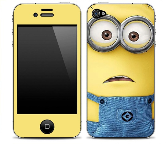 Despicable Me 1 iPhone Skin FREE SHIPPING. $9.99, via Etsy.