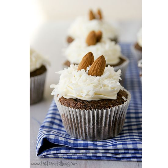 Almond Joy Cupcakes from Taste and Tell