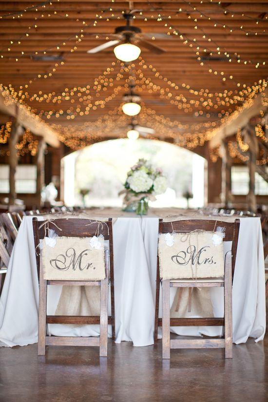 Mr. & Mrs. Barn Wedding Signs...add last name