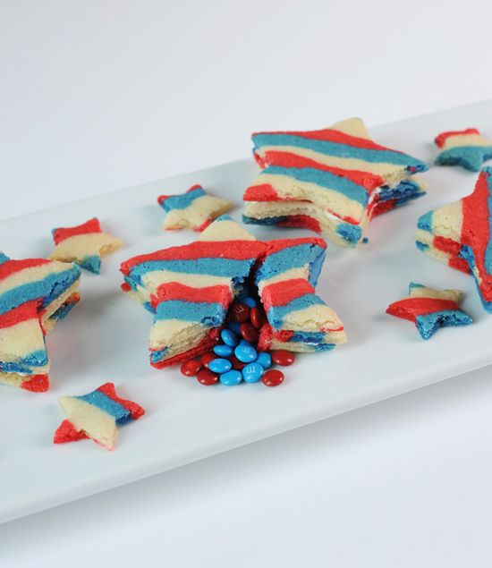 Forth of July - Star Pinata cookies. :)