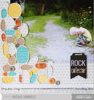 Rock Collector by Nicole Samuels at Studio Calico November kit