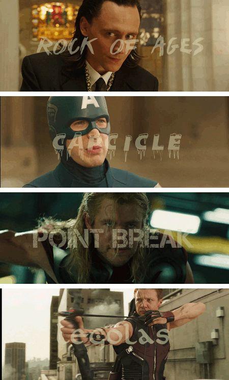 Tony Stark's Nicknames...
