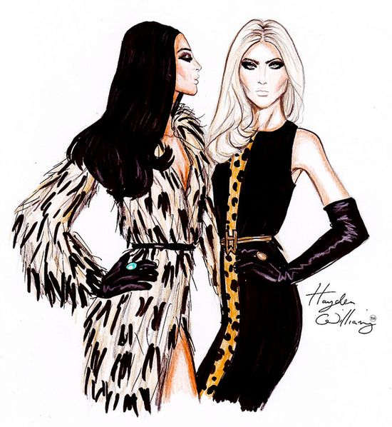 Hayden Williams F/W 11.12: Luxe Glamour by Fashion_Luva, via Flickr