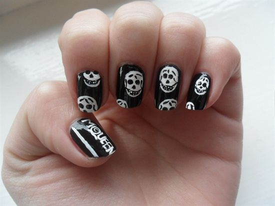 alexander mcqueen nails - Nail Art Gallery by NAILS Magazine
