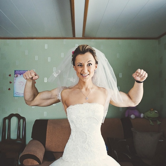 This is how big I want to get for my wedding...JK!! Super Funny