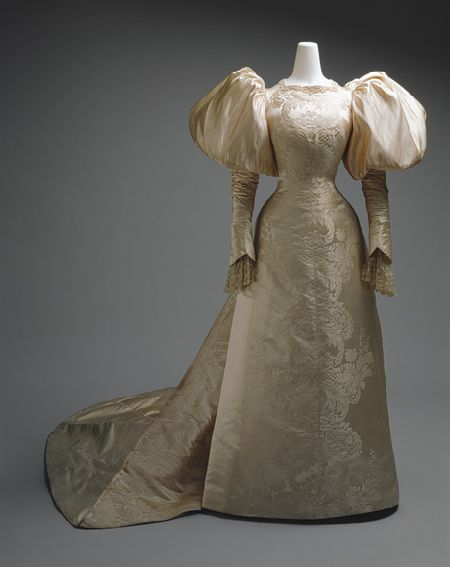 Worth Wedding Gown 1898