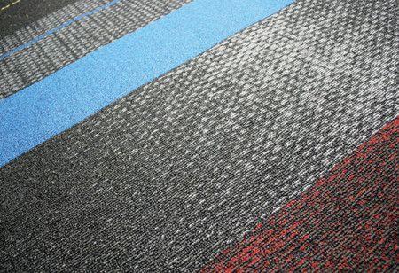 Screentone Stripe Carpet Flooring Interior Design Ideas - #floor design ideas #floor decorating before and after
