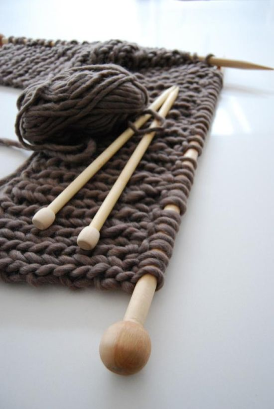 knitting @echtstudio