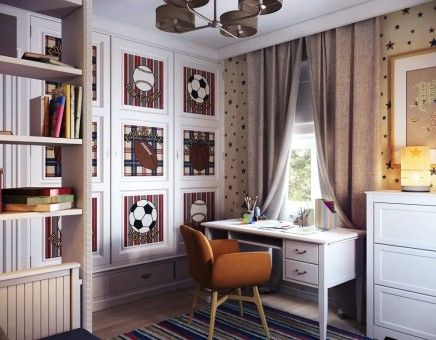 Small home office designing