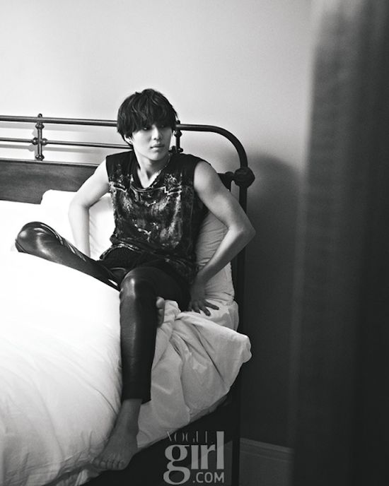 GUY CANDY: SHINee's Taemin goes 'lonely boy' in Vogue Girl