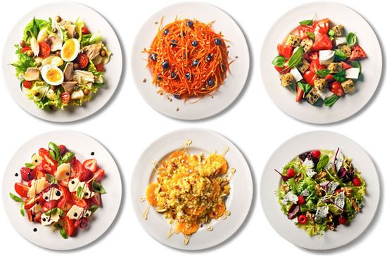 101 simple salads for summer