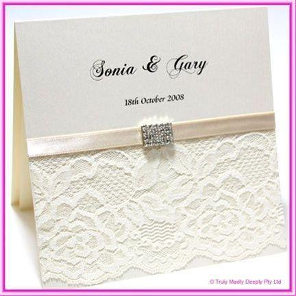 DIY- Do It Yourself Wedding Invitation Kit
