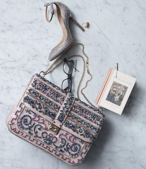 "Valentino ""Glam Lock"" handbag."
