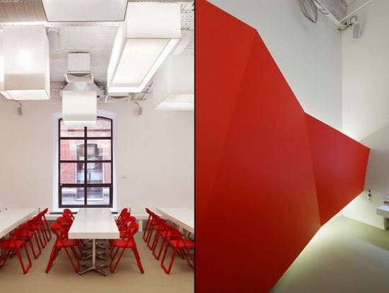 BBDO Group Office by Nefa Research, Moscow office design
