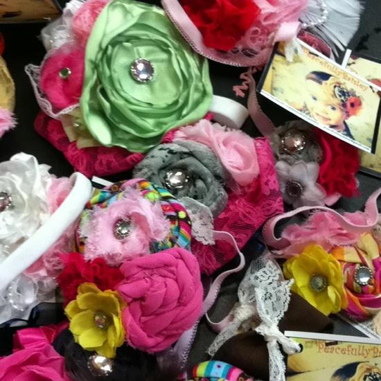 Peacefully paisley handmade headbands