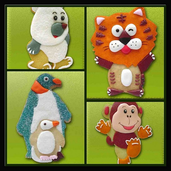 Animal cookie set 2