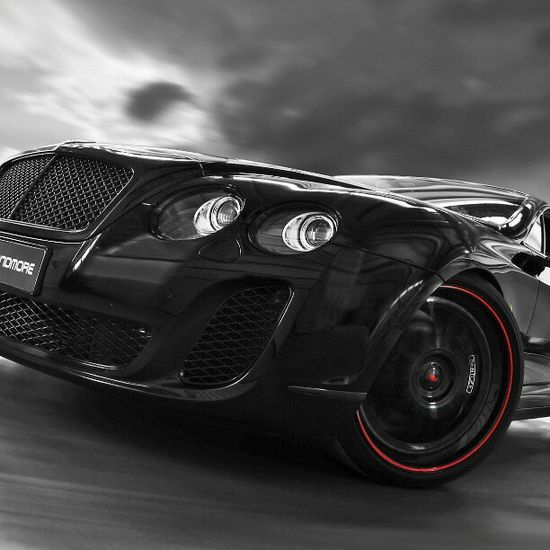 Front view of the Bentley Continental Gt Sport!