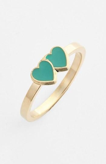Wedding heart ring Double love ring womens ring love jewelry for couple Exclusive Rings fashion jewelry 2013 jewelry design #love #ring #jewelry #wedding