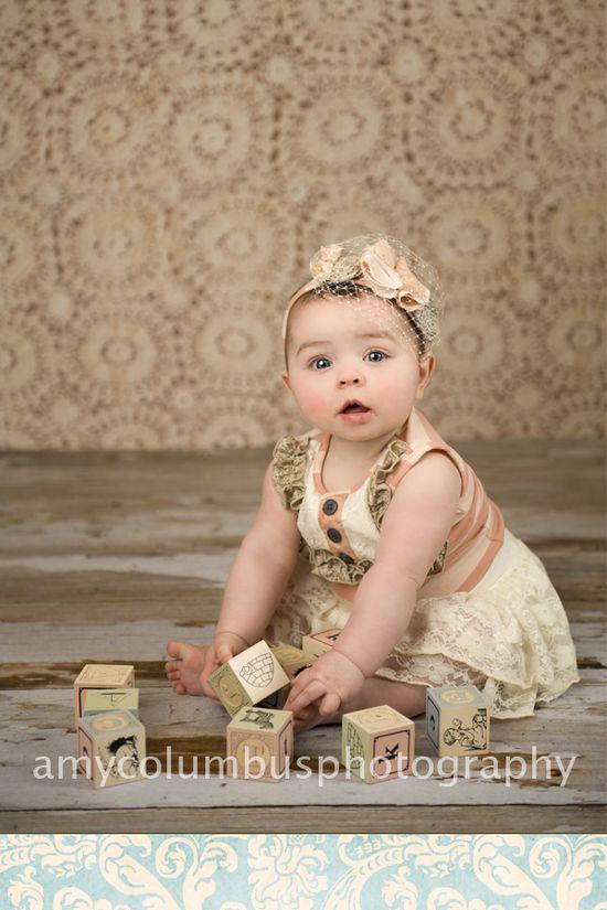 Baby girl photography