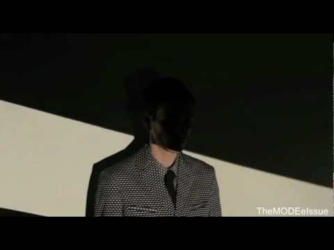 Marni Projections: Menswear Spring 2013