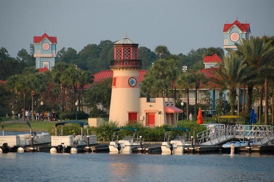Disneys Caribbean Beach Resort I liked staying at this beautiful resort.