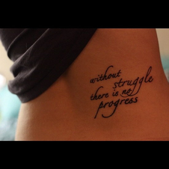 Wise words tattoo