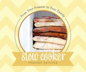 Freezer Crock Pot Cooking Day