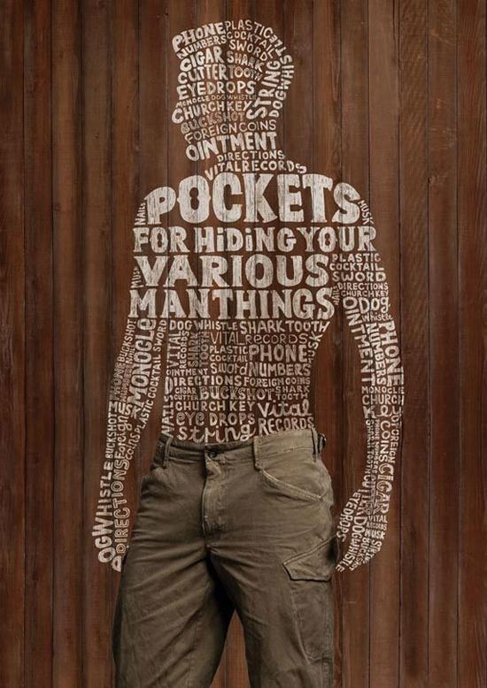 Pants Advertisement - Typography ?