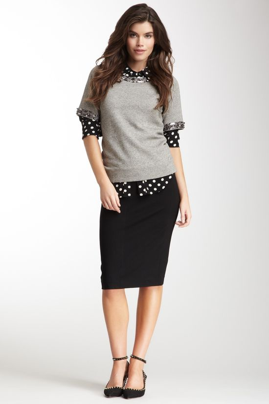 Work Outfit cute #newclothes #anoukblokker #WorkOutfit #Work #Outfit #collectionoutfit  www.2dayslook.com