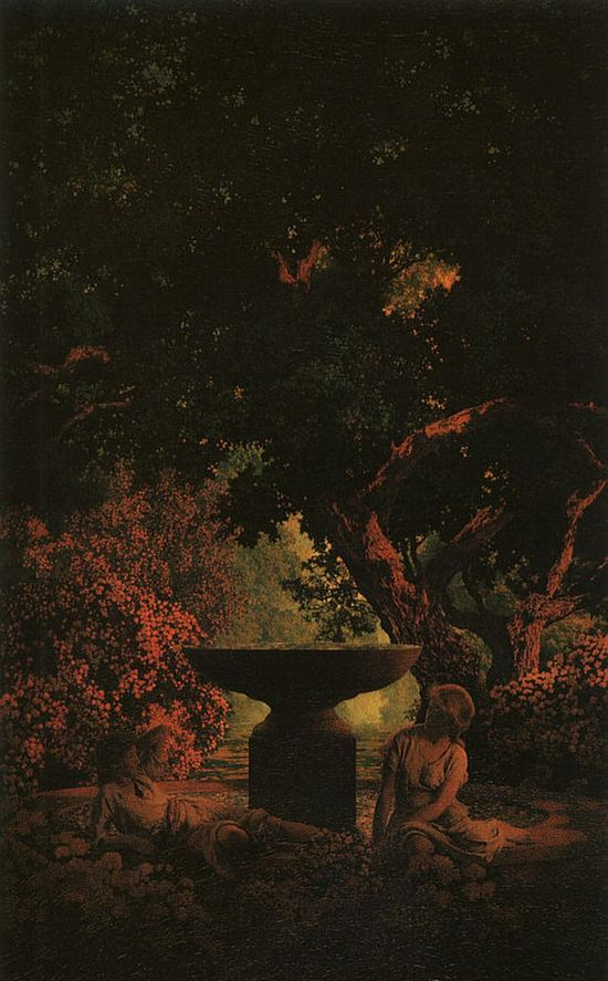 Reverie by Maxfield Parrish #art