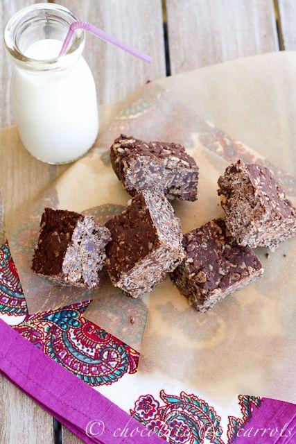Chocolate Peanut Butter Rice Krispie Treats