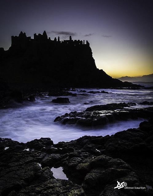 Dunluce Castle ... Co. Antrim, Northern Ireland ... photo by Dermot Staunton