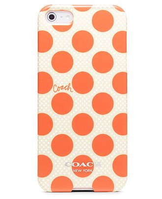 COACH POLKA DOT IPHONE 5 CASE...pink perhaps?
