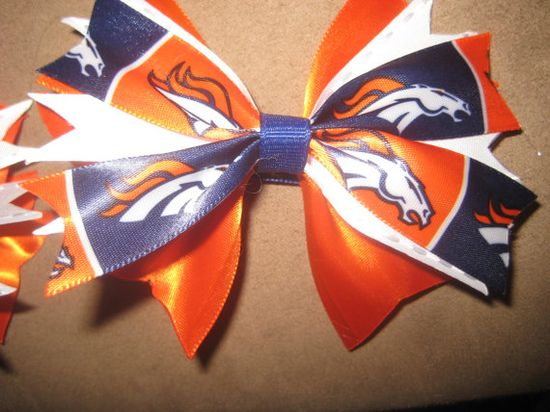 Bronco Hair Clips by kalijames13 on Etsy, $6.00