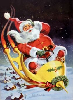 go santa, go!
