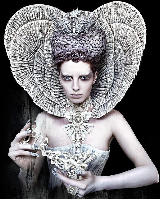 Wonderland : The White Queen by Kirsty Mitchell, via Flickr