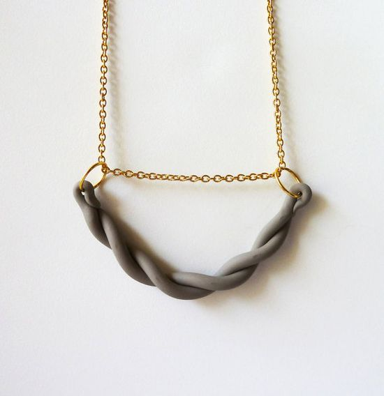 A Merry Mishap braided necklace (via Pennyweight)