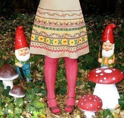 ribbon print skirt  tan  alpine folk trim by madewithlovebyhannah, $68.00